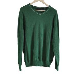 Joseph Jos A. Bank V-Neck Cashmere Knit Sweater XL